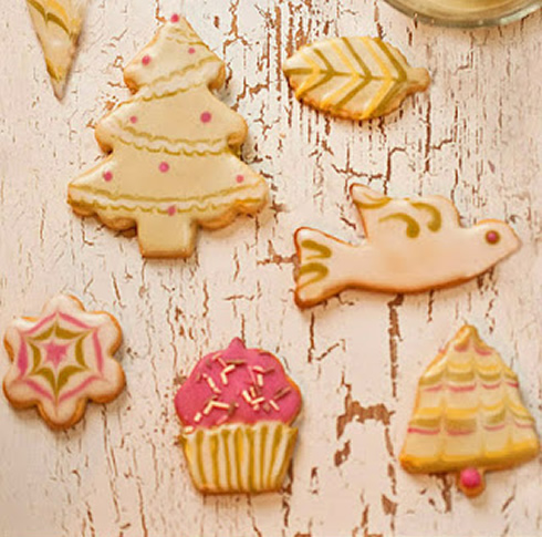 Dye-Free Good and Easy Sugar Cookies from Simply Sensational Cookies
