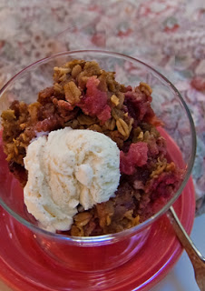 Cranberry-Apple Crumble–Making Good Use of Autumn's Bounty