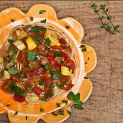 Celebrate Summer Vegetable Skillet with Fresh Herbs
