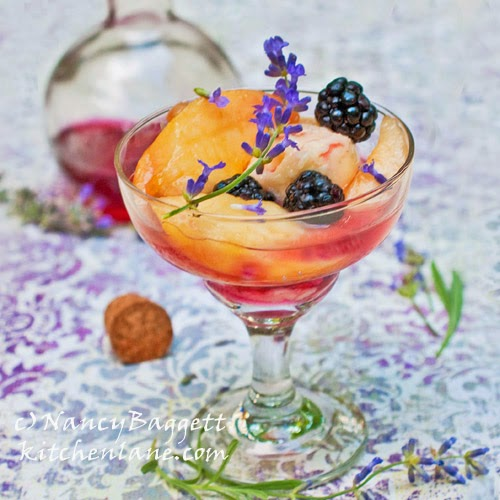 Lavender for Sweet Remembrance, Plus a Lavender-Blackberry Syrup