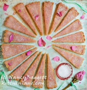 Petticoat Tails Rose Water Shortbread
