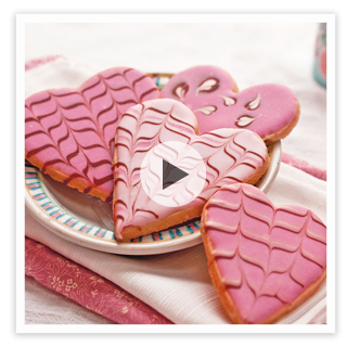 Fun, Easy Cookie Decorating with Marbling