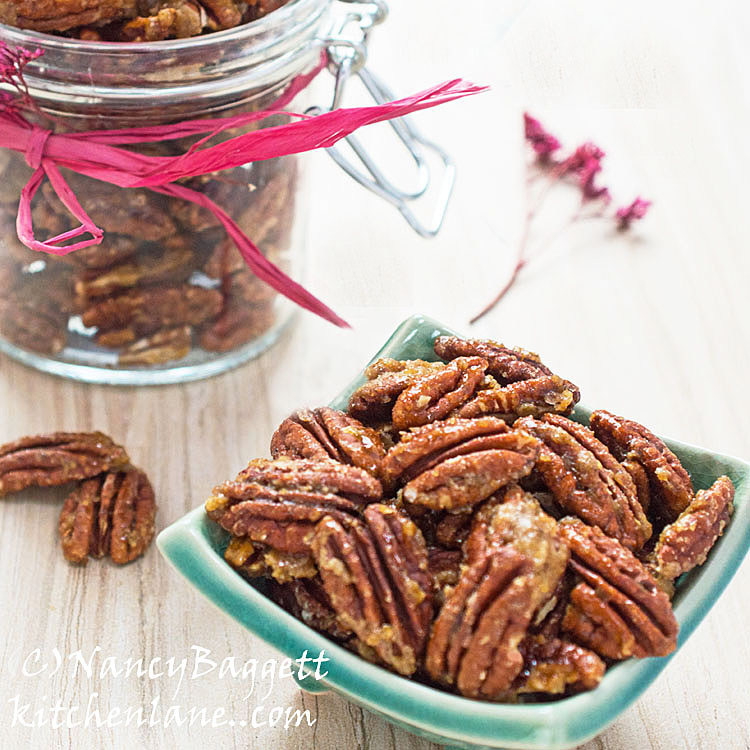 Caramelized Sugar & Spice Nuts–Fab Party Fare