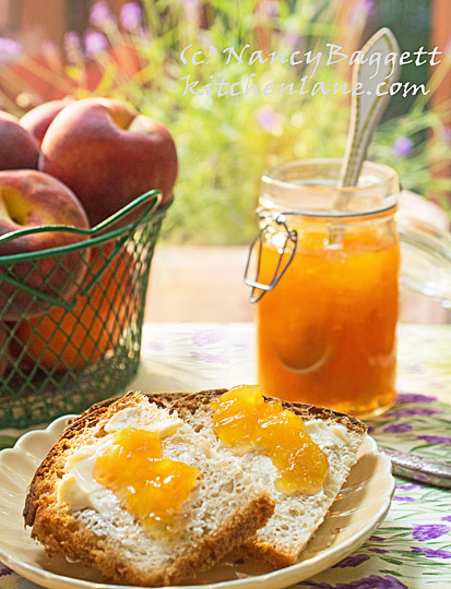 Cook with Lavender! Try This Fab Peach-Lavender Freezer Jam