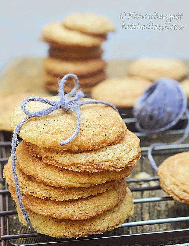 Fab Snickerdoodle Redo–Lavender Honey-Spice Snickerdoodles